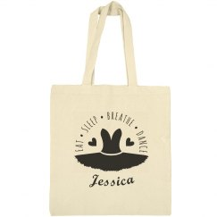 Ballet Dance Bag Tote