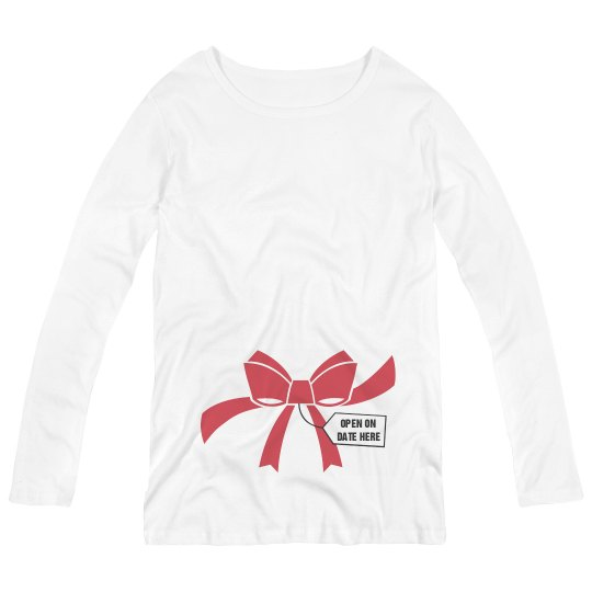 Maternity Christmas Shirt.Special Xmas Maternity Package