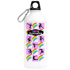 CUTE GYMNAST WATER BOTTLE