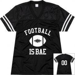 Football Is Bae Jersey