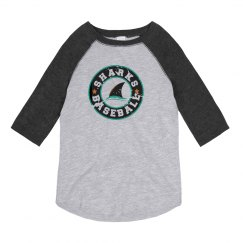Youth 3/4 Raglan - Circle Logo