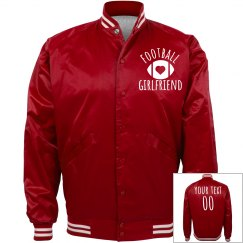 Satin Bomber Bling Football GF