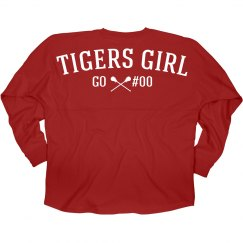 Lacrosse Girl Friend Fan Shirt