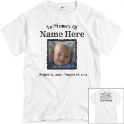 Custom Memorial Infant