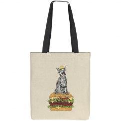 Cat Burger Bag