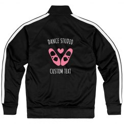 Custom Dance Studio Sport Zip Jackets