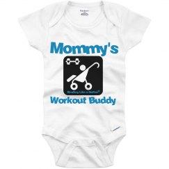 Baby Workout Buddy - blue