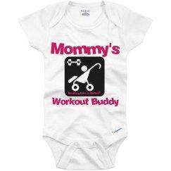 Baby Workout Buddy - pink