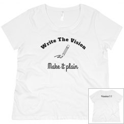 write the vision tee