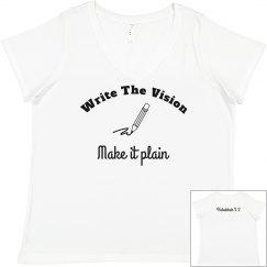 write the vision tee