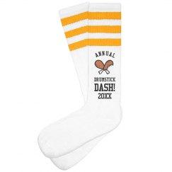 Drumstick Dash Socks