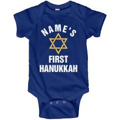 Custom First Hanukkah