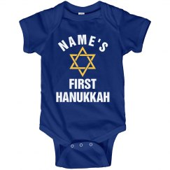 Custom First Hanukkah