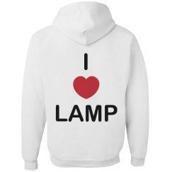 I Love Lamp Hoodie
