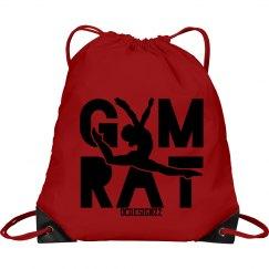 Pink Gymnastics Cinch Bag