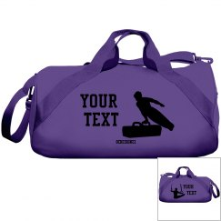 Gymnastic duffel bag