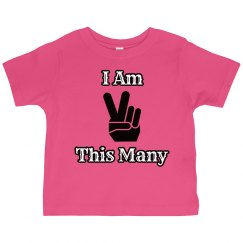 Toddler Age Shirt