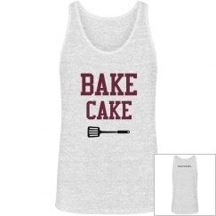 Bake Cake Unisex White V