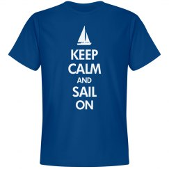 Keep calm sail on