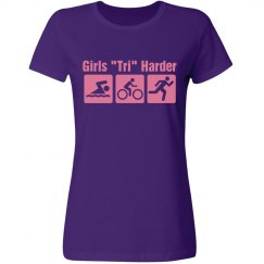 Girls Tri Harder