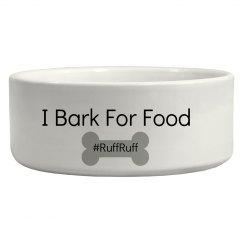 Bark for food
