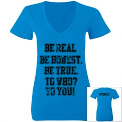 Be real women's T