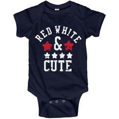I'm Red White & Cute