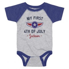 My First Fourth Custom July Baby