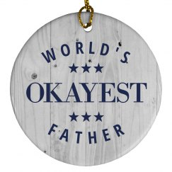 Funny World's Okayest Father