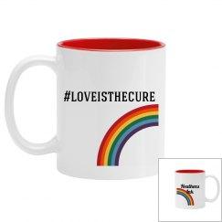 #loveisthecure mug