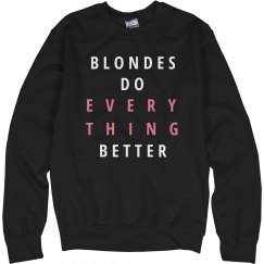 Blondes Do It Better