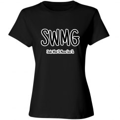 SWMG w/words Ladies Tee