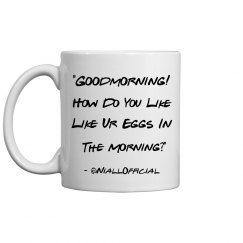 Goodmorning Tweet Mug