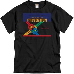 17th Annual Mid-Year Mens T-Shirt Colorful-Black