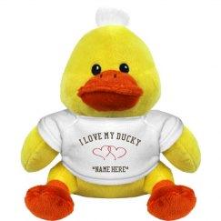 I love my ducky