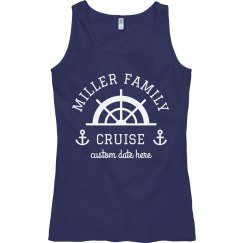 Custom Family Cruise Vacation Tanks