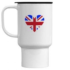 Heart London Travel Mug