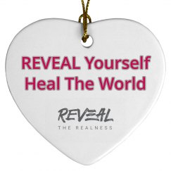 RTR Reveal Yourself Heart Ornament