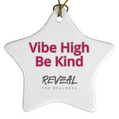 RTR Vibe High Be Kind Star Ornament