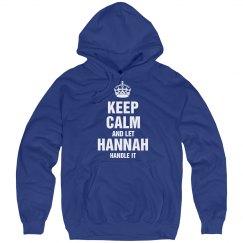 Let Hannah handle it