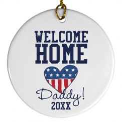 Welcome Home Ornament
