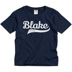 Blake personalized shirt