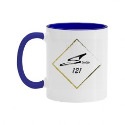 11oz Two Tone Ceramic Coffee Mug