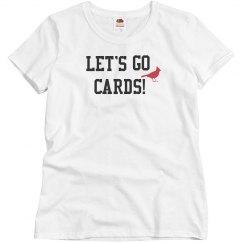 Go Cards Custom Tee