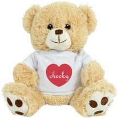 Cheeky Heart Valentine Teddy