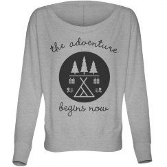 The Adventure Begins Long Sleeve