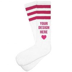 Custom Socks For Her Gift