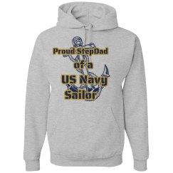 Navy Stepdad Hoodie