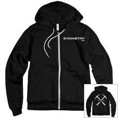 Mens/Ladies Fleece Zip Up Hoodie