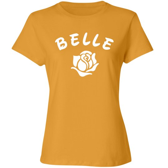 b0f5c7006ea6 Beauty/Beast Matching Halloween Ladies Relaxed Fit Cotton Basic T-Shirt